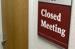 Transit Authority board meetings are effectively closed off to transit riders